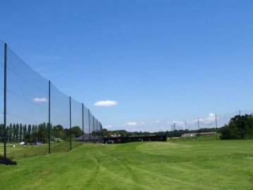 Golf Netting Installation and Ball Stop Perimeter Fencing photo